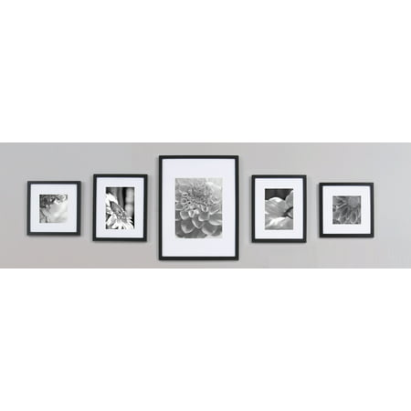 - Gallery Perfect 5-Piece Black Wall Frame Kit