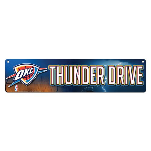 Rico Industries Oklahoma City Thunder High-Res Street Sign