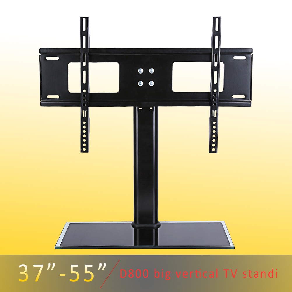 Knifun TV Stand Tabletop  Base Stand,haha Universal Replacement Bracket TV Stand Tabletop  Base Stand Mount 8 Sizes For TVs