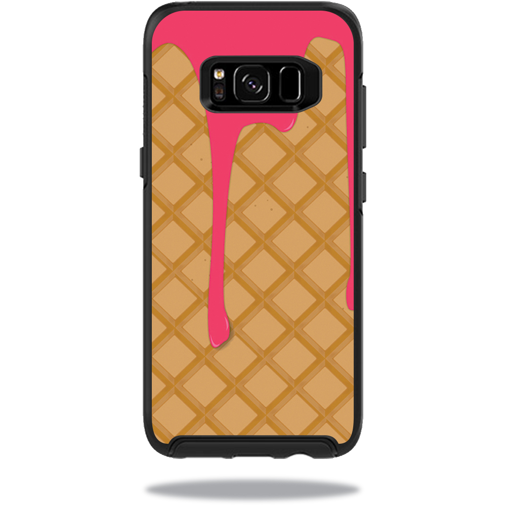 MightySkins Protective Vinyl Skin Decal for OtterBox SymmetrySamsung Galaxy S8 Case sticker wrap cover sticker skins Ice Cream Cone