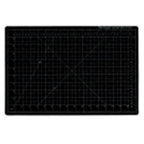 Vantage 18 x 24 inch Self-Healing Cutting Mat, Pvc Handle, Black