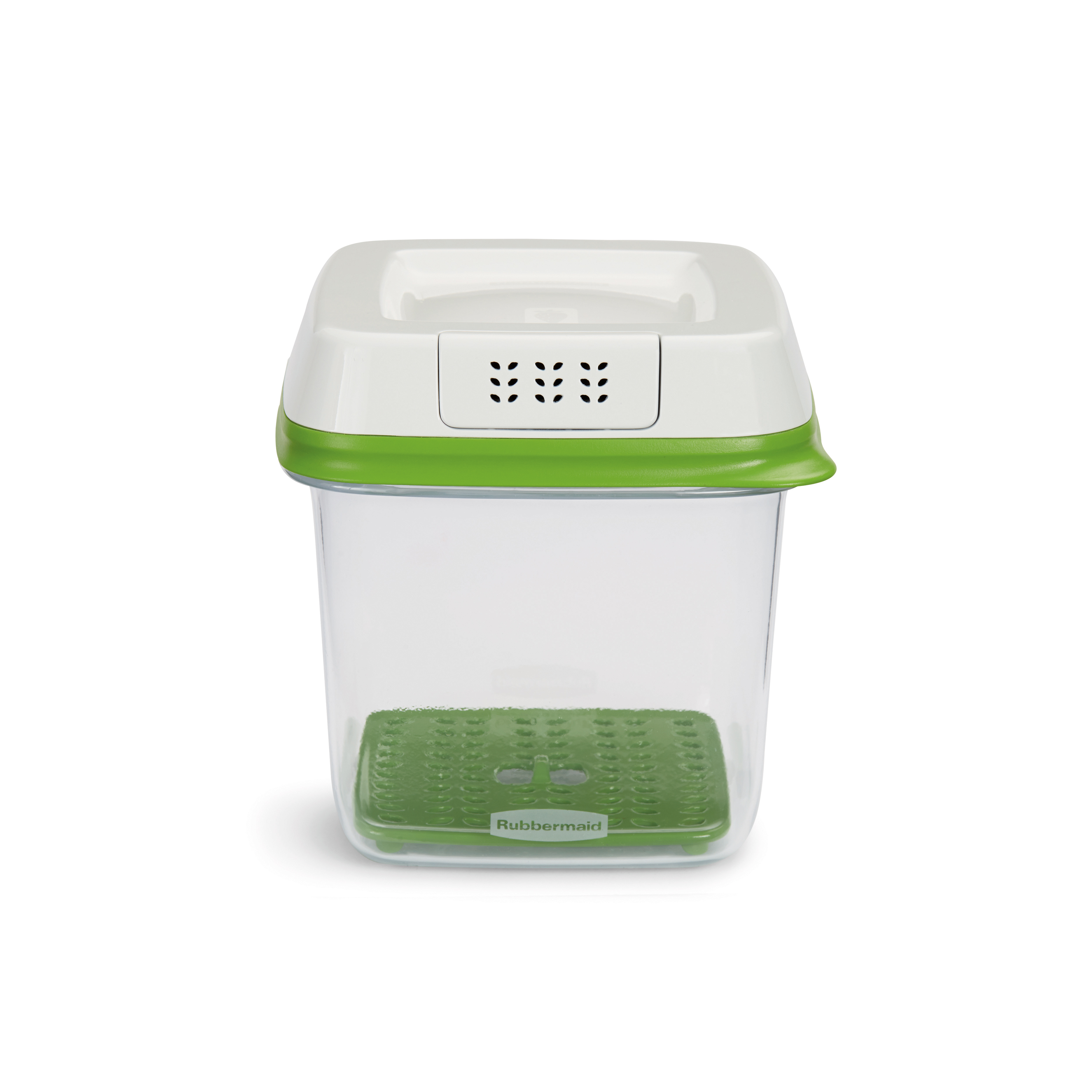 Rubbermaid FreshWorks 6.3-Cup Medium Produce Saver, Green