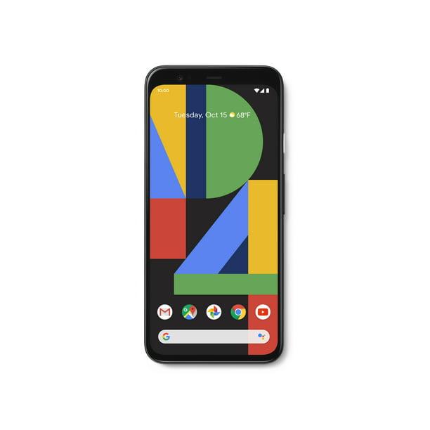 Google Pixel 4 Black 64 Gb Unlocked Walmart Com Walmart Com