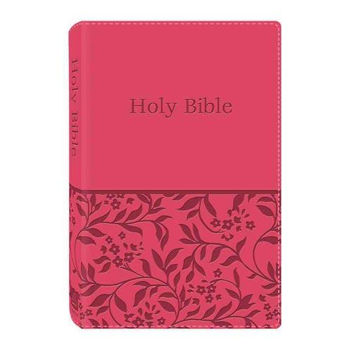 Holy Bible: King James Version DiCarta Pink Gift & Award Bible