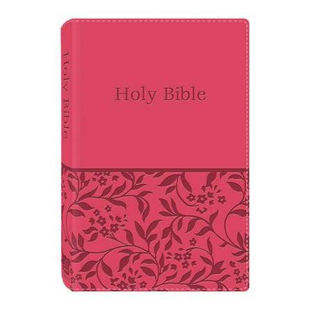 Holy Bible  King James Version Dicarta Pink Gift   Award Bible