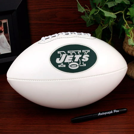 New York Jets Football (New York Jets Rawlings Signature Series Official Size Autograph Football - No)
