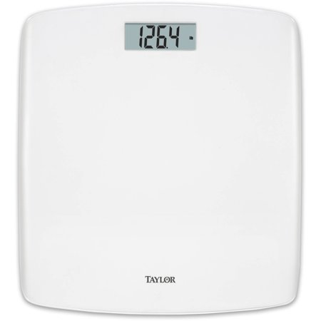 taylor digital bath scale with waterfall design white