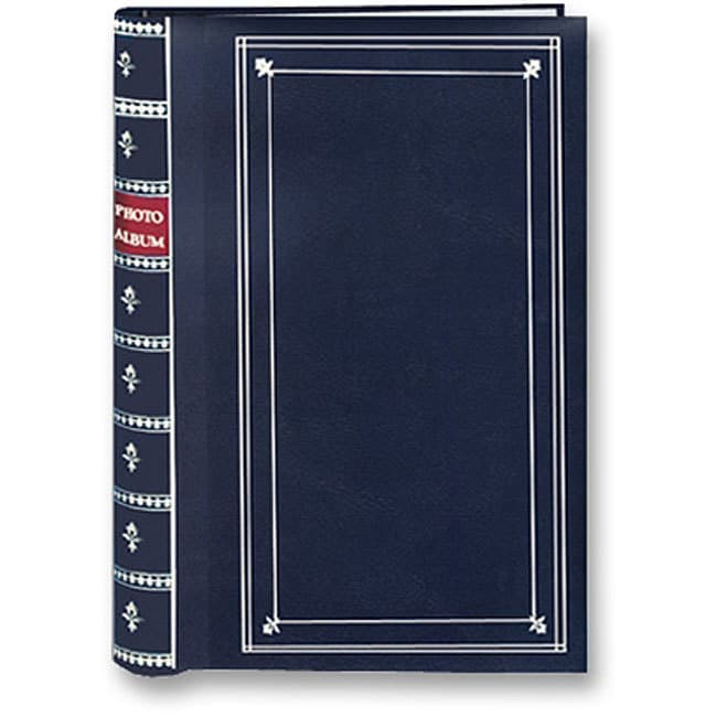 Pioneer Photo Albums Pioneer Navy Blue Cover Metal Coilbound Bi-directional Memo Albums (Pack of 2)