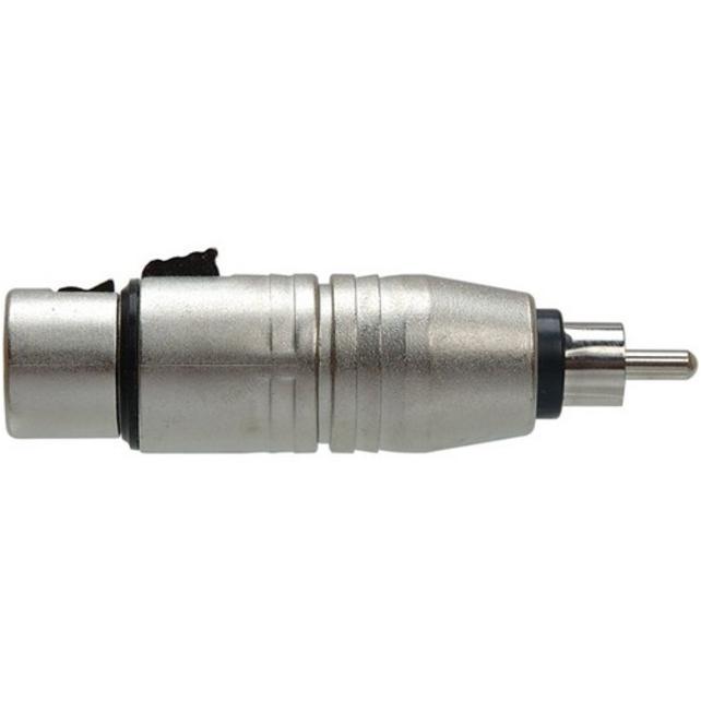 Hosa Analog Audio Adapter - XLR Female Audio, RCA Male Audio (Refurbished)