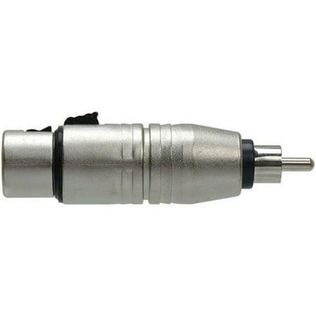 CHEAP Hosa Analog Audio Adapter - XLR Female Audio, RCA Male Audio (Refurbished) NOW