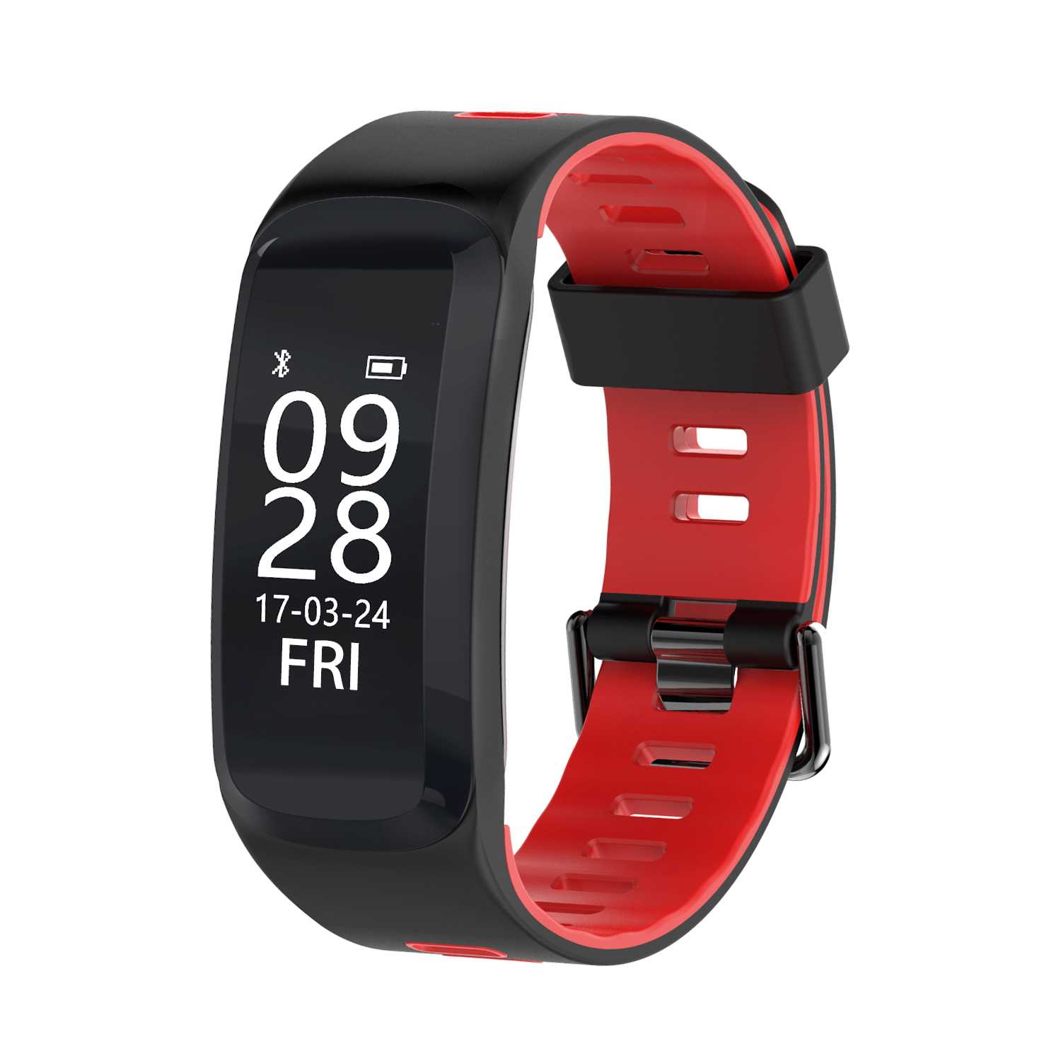Diggro F4 Smart Sport Bracelet Bluetooth IP68 Real-time Heart Rate Monitor Blood pressure and Blood Oxygen Monitor Fitness Tracker for Andriod IOS