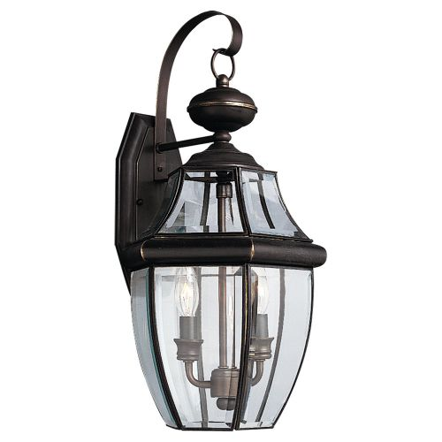 Sea Gull Lighting 8039 Lancaster 2 Light Outdoor Lantern Wall Sconce