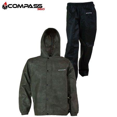 Compass 360 SportTek Jacket & Pants (M)- Stone/Black