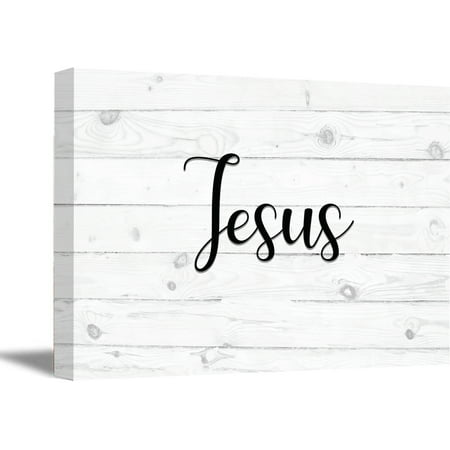 Artwork Home Decor - Awkward Styles Jesus Canvas Art Jesus Wooden Canvas Print God Quotes Wall Decor Religious Gifts for New Home Artwork for the Office Inspirational Wall Art Calligraphy Art Christian Living Room Decor