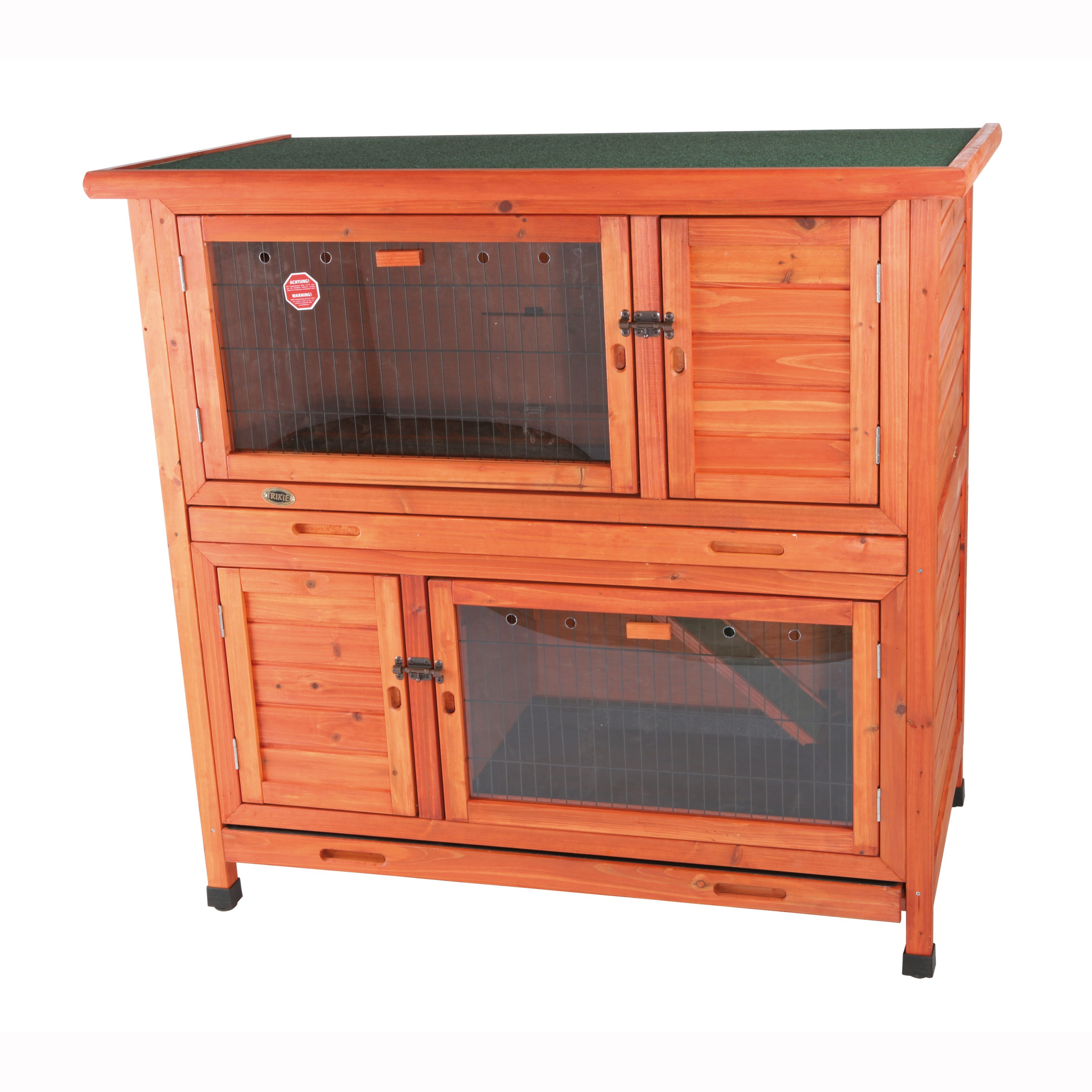Trixie Pet 2-in-1 Rabbit Hutch with Insulation