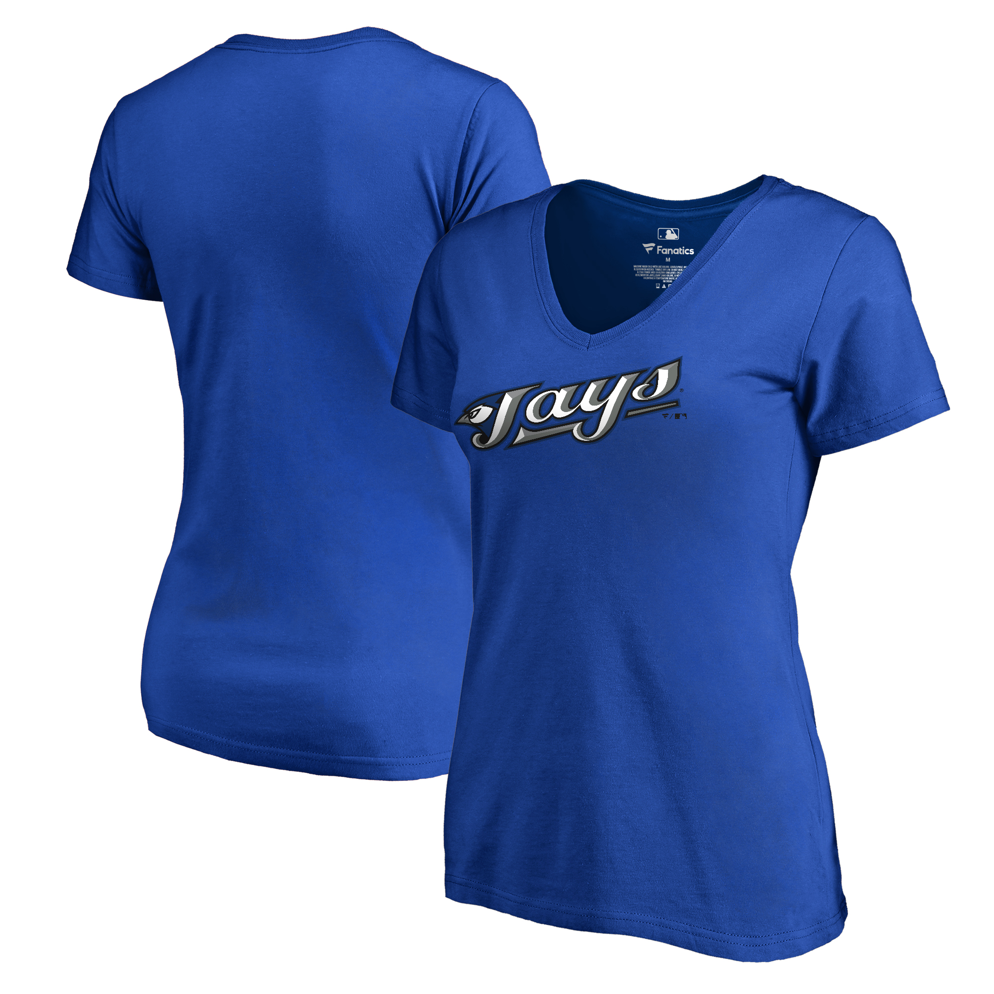 Toronto Blue Jays Fanatics Branded Women's Plus Sizes Cooperstown Collection Wahconah T-Shirt - Royal