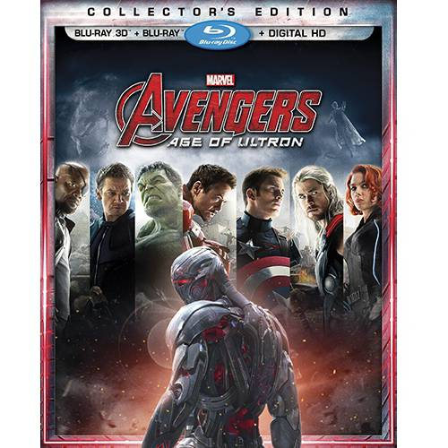 Avengers: Age Of Ultron (3D Blu-ray   Blu-ray   Digital HD)