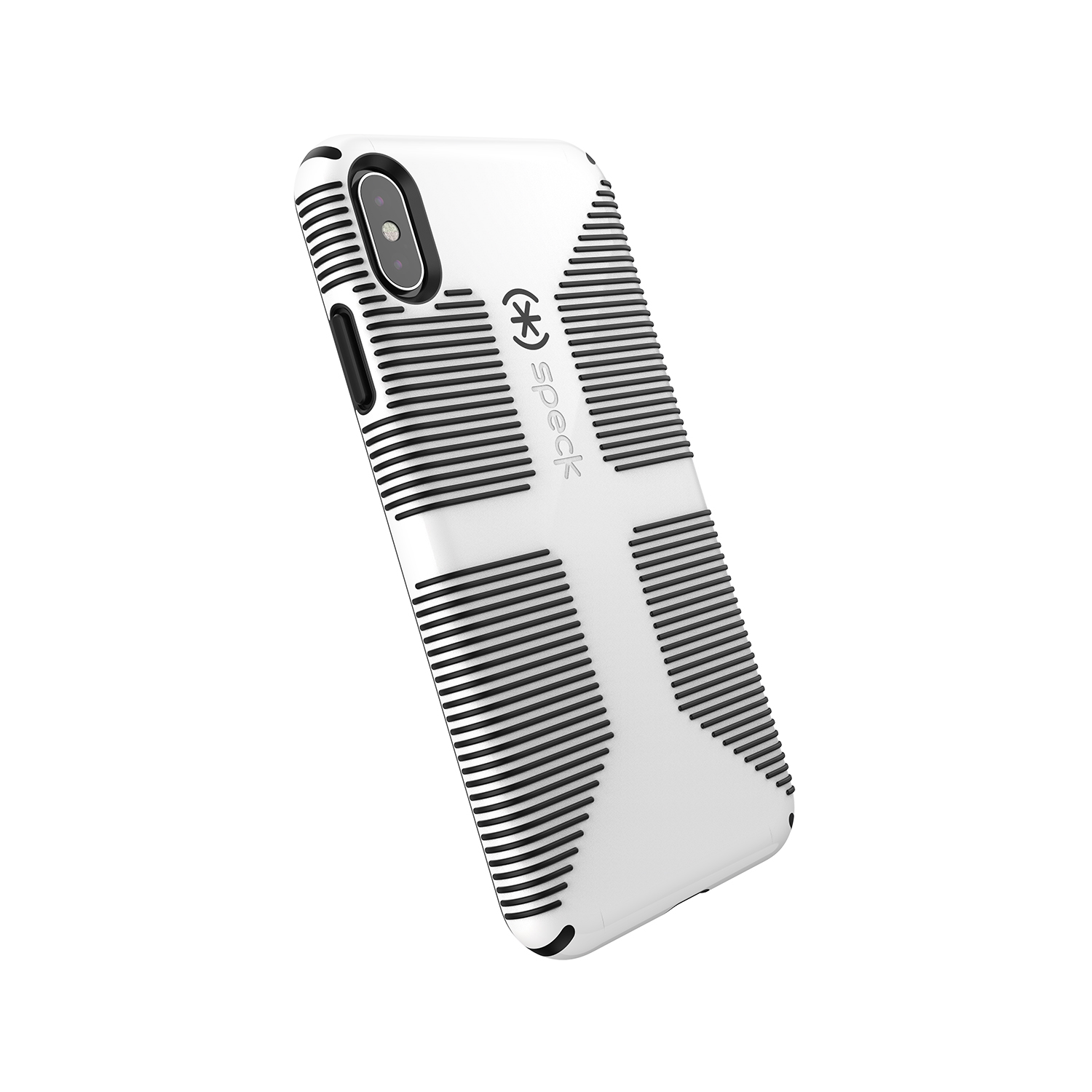 sports shoes 2e298 4df96 Speck Candyshell Case Grip for iPhone XS Max, White/Black