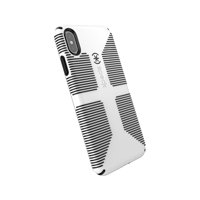 Speck Candyshell Case Grip for iPhone XS Max, White/Black