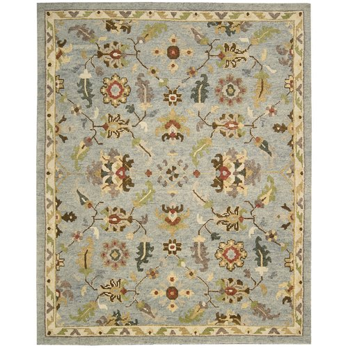 Nourison Tahoe Hand-Knotted Seaglass Area Rug