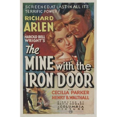 Posterazzi MOVIJ9124 The Mine with the Iron Door Movie Poster - 27 x 40 in. - image 1 of 1