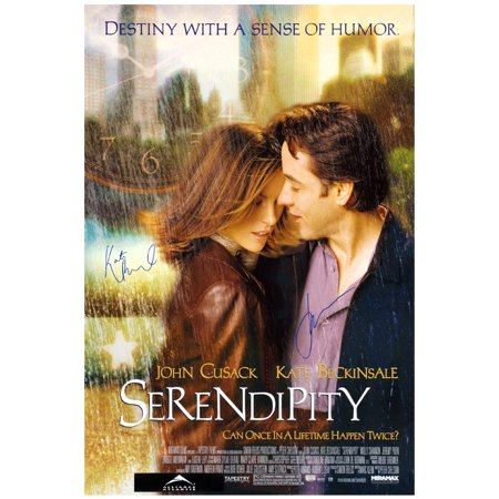 Kate Beckinsale and John Cusack Autographed Serendipity 27x40 (Autographed Collectibles)