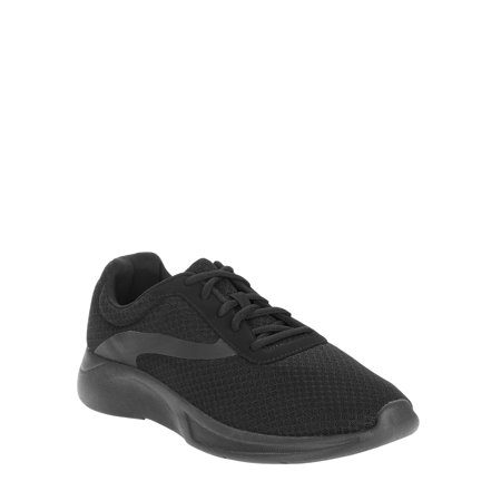 Men's Athletic Works Running (Mens Canvas Slip On Shoes)
