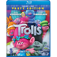 Trolls (Walmart Exclusive) (Party Edition) (Blu-ray + DVD)