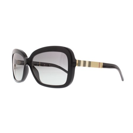 BURBERRY Sunglasses BE 4173 300111 Black 58MM ()