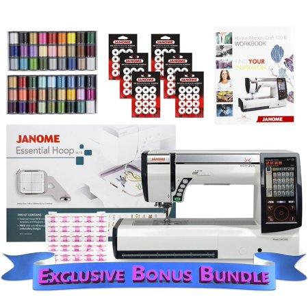 Janome Horizon Memory Craft 12000 Embroidery Quilting and Sewing ... : embroidery quilting sewing machine - Adamdwight.com