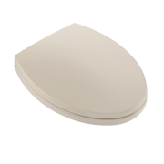 TOTO® SoftClose® Non Slamming, Slow Close Elongated Toilet Seat and Lid,  Bone - SS114#03