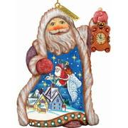 G.Debrekht 661513 General Holiday Santa Christmas Goose 5 in. 661522
