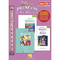 Disney Princess Favorites - Learn and Play Recorder Pack