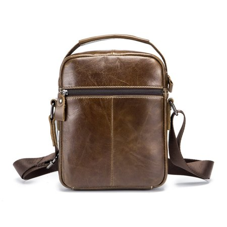 Business Style Cow Leather Men Bag Casual Design Men Messenger Bag Best Gift - image 4 of 8