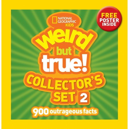 Weird But True! Collector's Set 2 (Boxed Set) : 900 Outrageous - 2 Halloween Facts