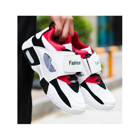 Men's Breathable Fashion Basketball Sneakers Outdoor Casual Running Sports - Adidas Red Basketball Shoe