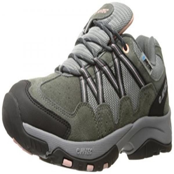 Hi-Tec Women's Florence Low Waterproof Multisport Shoe, Charcoal Blush, 7.5 M US by