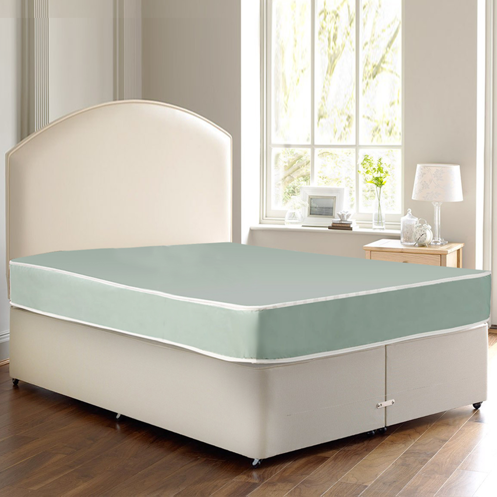 WAYTON Waterproof Vinyl Tight Top 8 Inch Innerspring Mattress