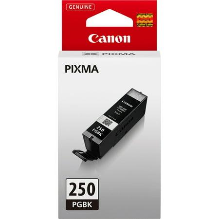 Canon, CNMPGI250PGBK, PGI-250 Black Pigment Ink Cartridge, 1