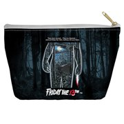 Friday The 13Th Poster Accessory Pouch White 12.5X8.5
