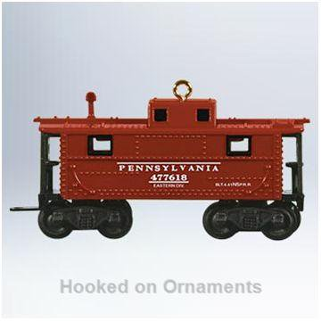 Hallmark Ornament 2011 Lionel Whistle Caboose