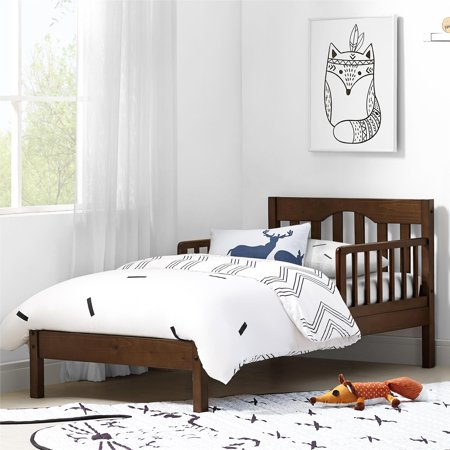 Baby Relax Carolina Toddler Bed, Kids Bedroom Furniture, Mocha
