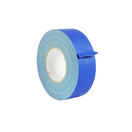 WOD CGT-80 Gaffer Tape Dark Blue Low Gloss Finish Film - 3 in. X 60 Yards (Pack of 16) Bulk Case - Residue Free & Non Reflective Gaffer (Available in Multiple (Pink Reflective Tape)