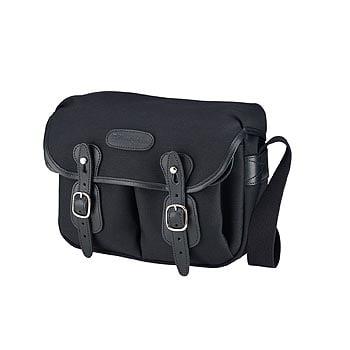 Billingham Hadley Shoulder Bag Small (Black with Black Le...