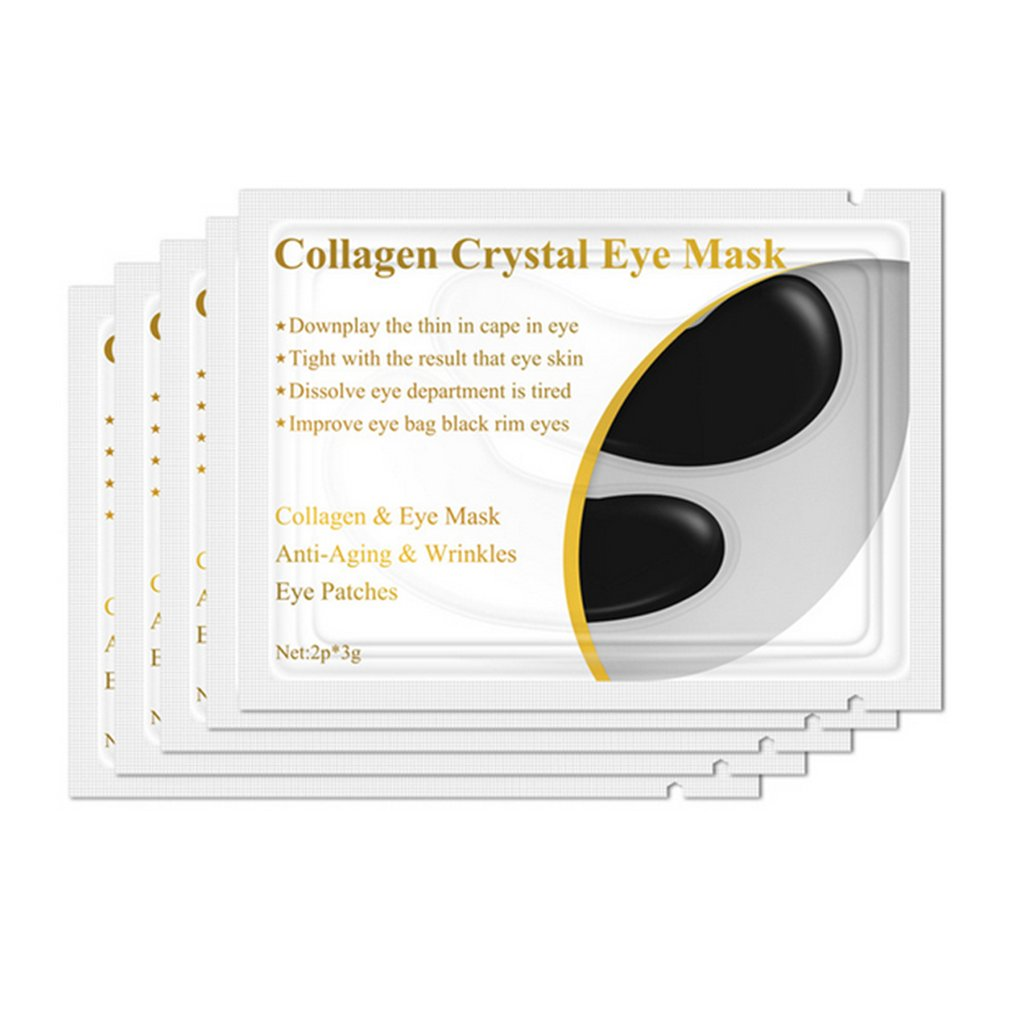 1pair Collagen Protein Eye Mask Eye Patches Removal Dark Circle Eye Care