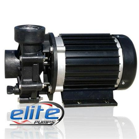 Elite Pumps 7000ELT22 4500 Low RPM Series 1 by 2 HP GPH External Pond Pump (External Pond)