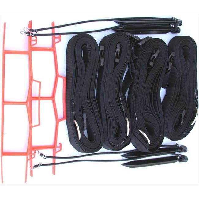 Home Court M819ABKS 8 Meter Black 2-inch Adjustable Web Courtlines