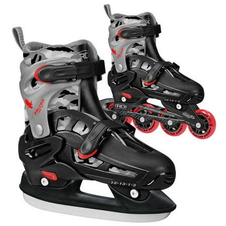 Roller Derby 2 in 1 Inline/Ice Interchangeable Youth Skate