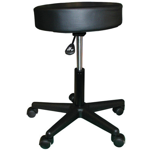Custom Craftworks Height Adjustable Rolling Stool