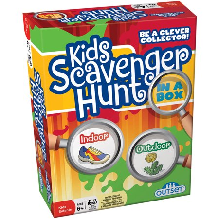 Outset Kids Scavenger Hunt In A Box (Halloween Scavenger Hunt Ideas Classroom)